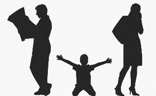 6 choses qu'un enfant attend de ses parents divorcés